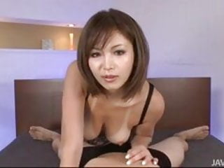 Gay guys fuckig in bed - Sexy tanned mai kuroki in bed playing with a horny guys cock