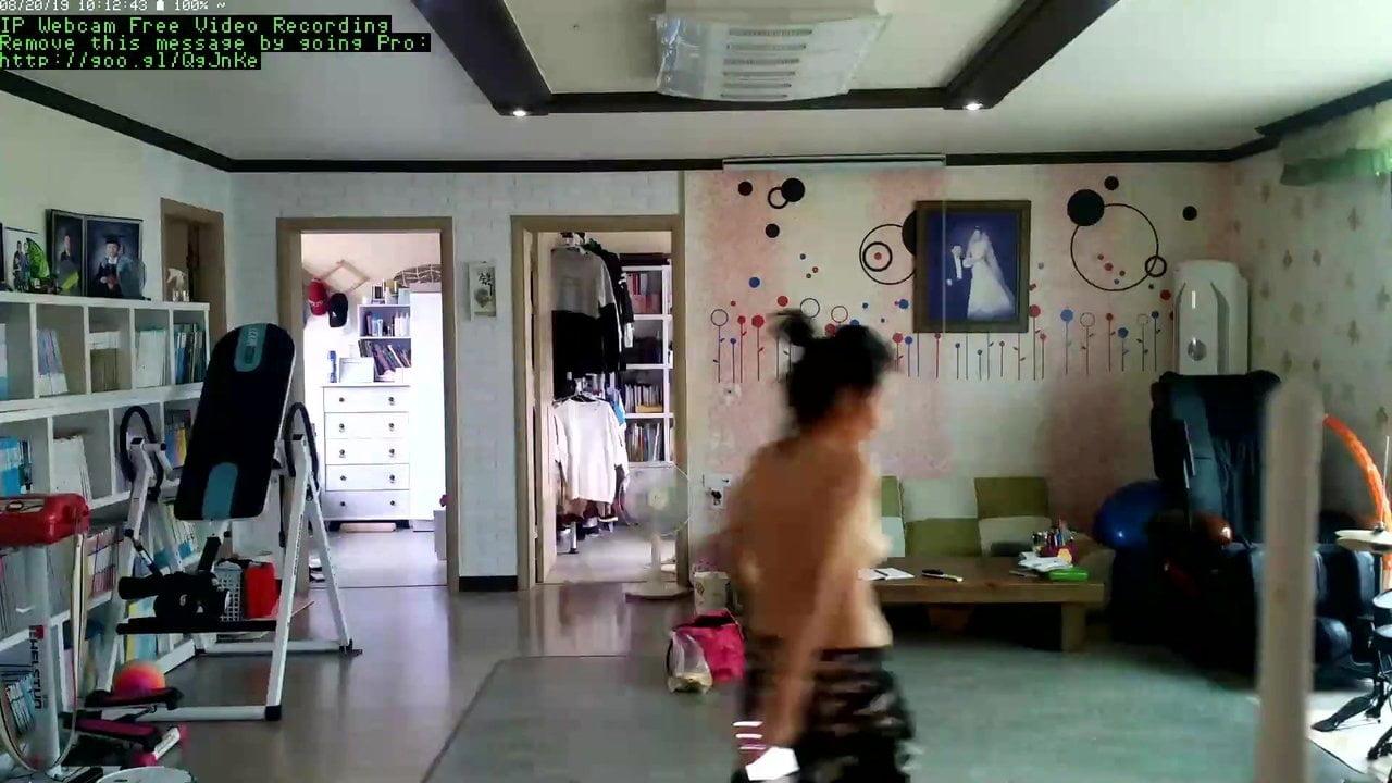Hot day in Korea, Hidden Cam Leak Part 8 of 9