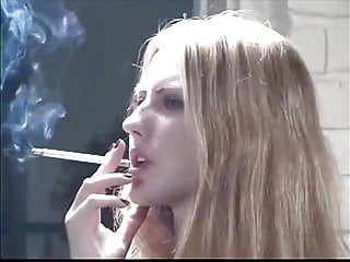 Teen multiple smoking fetish review - White dress smoking fetish blonde shana 3