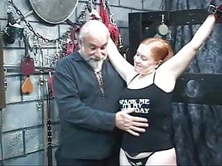 Whip her asian ass Redhead bbw kirsten gets her fat ass whipped by master