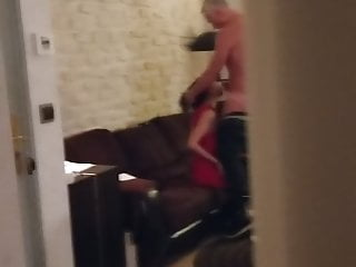 Titty fucked my wife for hours - My wife sucking a neighbour
