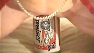 24oz. Budweiser Beer Can Insertion pt. 1