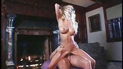 Krystal Steal - incredible body fucked by the fireplace