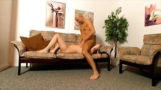Blond German wife gets fucked by husband