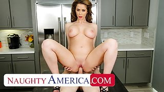 Naughty America, Cougar has a college boy take care of her