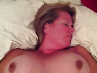 Allen exposes breast Bouncy big breasted mature wife exposed