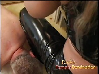 Sex humiliation femdom - Busty milf dominatrix humiliates her slave with some hardcor