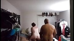 Married slut takes two bbc bare