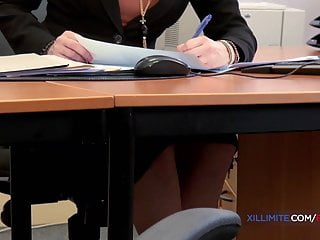 Teen stress management She gets fucked by the bank manager