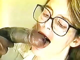 Monster cock gangbang milf ass - White whore taking a black monster cock in her ass