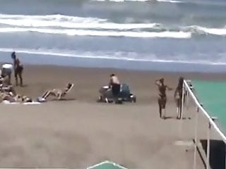 Bikinis mature - Spying mom not daughter bikini - round ass - beach voyeur