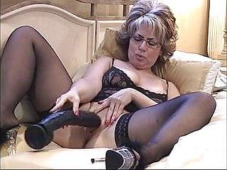Hot sexy mo - Hot milf slo-mo big dildo part 1