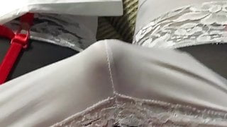 Cumming in my panties and lingerie