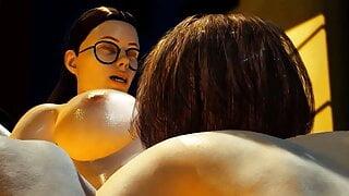 Best Erotic Film! Episode 1: Big Titted Lesbians Fuck hard