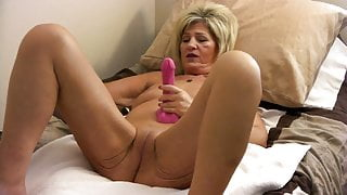 Mrs Zonie Plays With Her Toys
