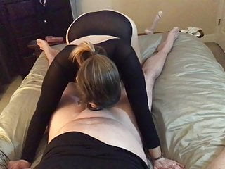 Pee front - Hotwife talks about fucking other cock in front of her cuck