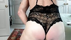 Hard cock and ass spank and jerk