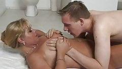 BBW Blonde Dutch MILF Fuck Babe