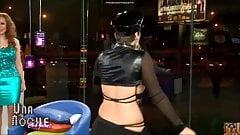 Linda Mejia erotic dance G-string
