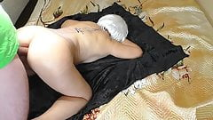 Anal sex in a big and elastic ass