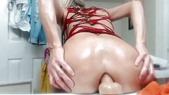 Milf Riding Dildo (anal)