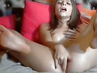 Quirt bdsm Girl struggles to get her quirt orgasm out but does