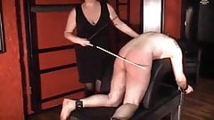 Miss Margot caning
