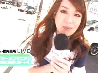 Fuck japanese sex tv Sperm night tv reporter