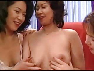 Uncensored strip dodgeball - Japanese mature lesbians uncensored