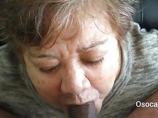 Grandma suck my cock Grandma luisa sucks my cock