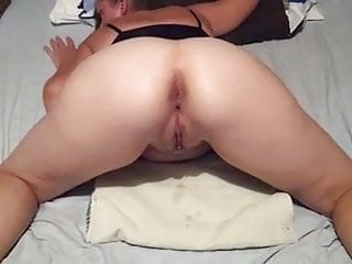 Guys cum dripping from pussy - Cum drip from my wifes hot pussy
