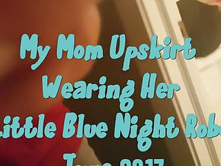 Mom pussy vid - My mom upskirt following the bath spy vid