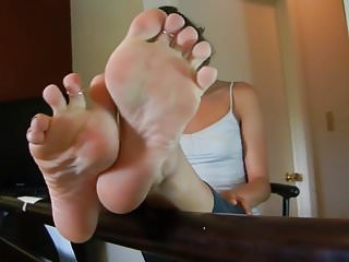 Sexy high arches poses Soles tease with high arches
