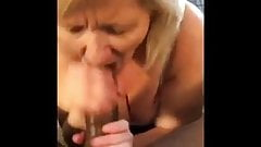 White blonde blowjob bbc part1