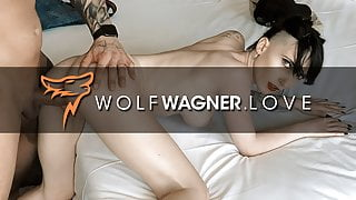 First some fussing then some fucking! Wolfwagner.love