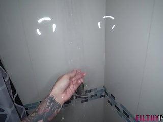 Masturbate sister cum Hot horny sister gets caught masturbating in shower by bro