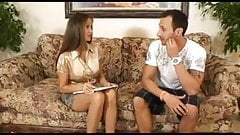 Super-Hot Wife Is The Office Therapist!