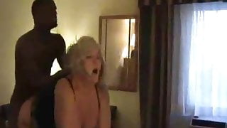 BBW SLUT WIFE FUCKED HARD BY BBC