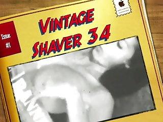Penis testicule shaver Vintage shaver 34