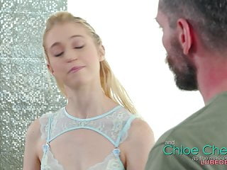 Cherry potter handjob Chloe cherry gives nuru massage