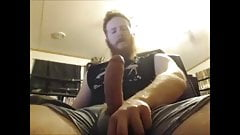 Big Dick Ginger Shoots Out A Massive Load
