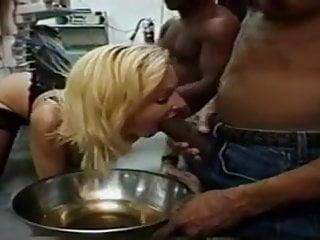 Cock 18 inch cum shot Blond slut takes a 18 inch cock