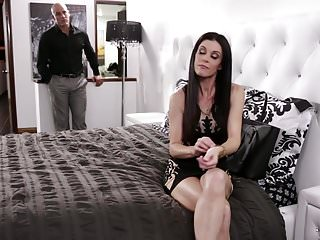 India breast - India summer cheating with her step son