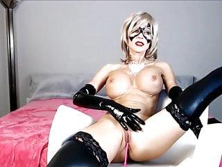 Nudes wearing carnivale masks - Bigtits blonde milf wear mask