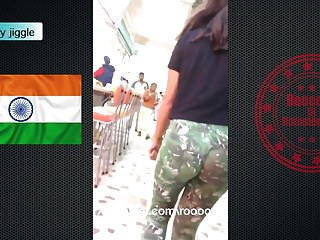 Ass india - India booty jiggle