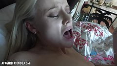 Paris White cums hard on your cock