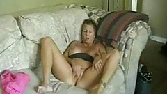 Short Haired Milf Masturbates To Orgasm