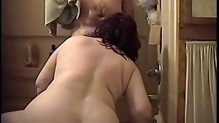 Mary shower fun