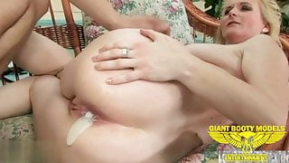Mature anal creampies compilation