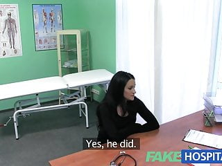 Hardcore pleasure moaning Fakehospital tight hot wet patient moans with pleasure